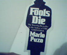Fools Die by M Puzo Bookmark Advertisment!