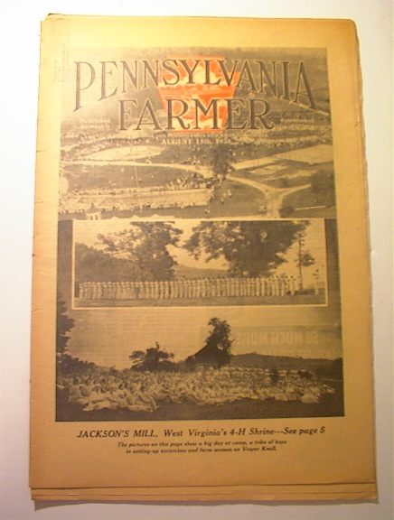Pennsylvania Farmer,8/15/1936,JACKSON's MILL