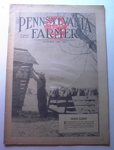 Pennsylvania Farmer,10/24/1936,GREAT ADS!