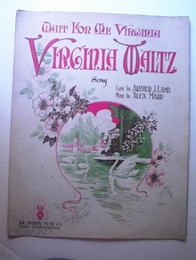 1918 Wait For Me Virginia Virginia Waltz