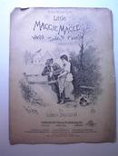 1891 Little Maggie Magee Waltz Song/Chorus