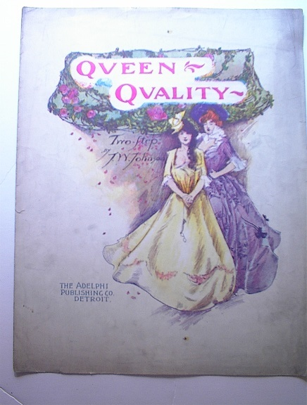 1903 Queen Qvality Two Step by T.W.Johnson