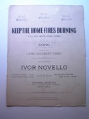 1916 Keep The Home-Fires Burning