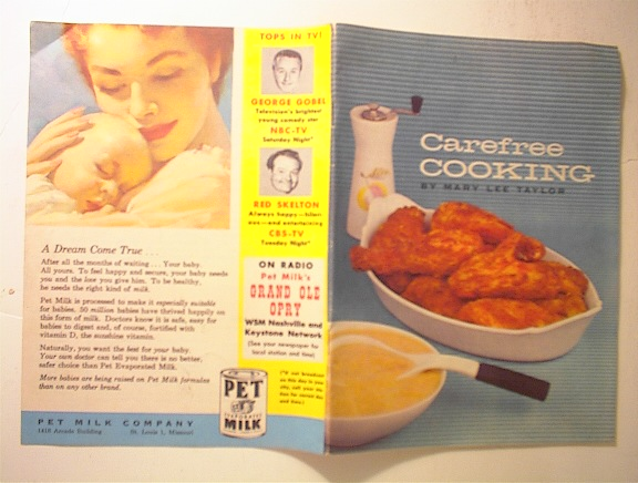 Carefree Cooking by Marry Lee Taylor,c1960