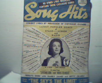 Song Hits Lyrics-Harry James, Fred Astaire!