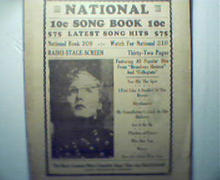 National Song Book From Radio Stage and Scree