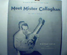 Meet Mister Callaghan by Eric Spear