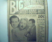Big Song Magazine-Latest Song Hits! frm 1941!