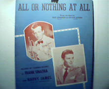 All or Nothing At All featured by Sinatra!