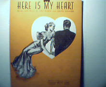 Here is My Heart by Leo Robin and R.Rainger