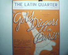 The Latin Quarter-Gold Diggers in Paris