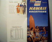 United Airlines Hawaii Vacation Guide 1959!