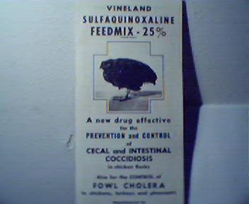 Vineland Sulfaquinoxaline Feedmix 25%