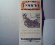 Vineland Tenderettes for Poultry Tenderizing