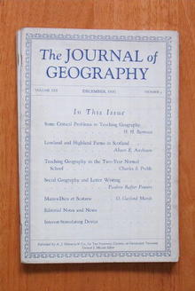 Journal of Geography 12/1931 - Scottish Highland Farms