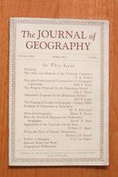 Journal of Geography 4/1933 On Teaching Geog.