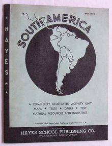 South America Teaching Guide/Activities, 1960