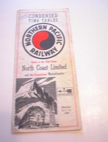 Northern Pacific Railway Vista Dome Route