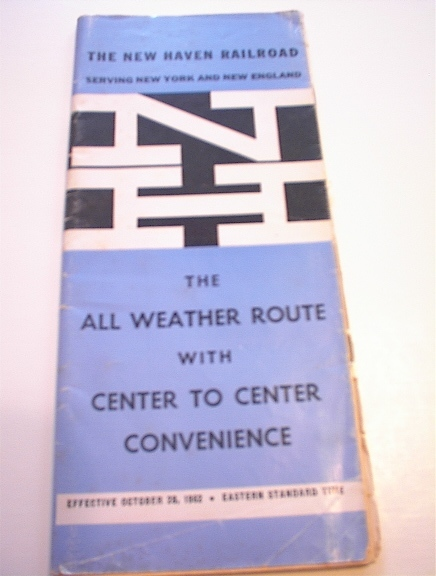 1962 New Haven Railroad All Weather Route