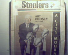 Steelers Digest-9/5/88 Art Rooney Dies 1901-1988