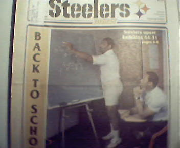 Steelers Digest-8/15/88 Joe Green with Aaron Jones!
