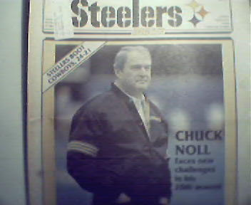 Steelers Digest-9/88 Gregg Carr,Redskins,Dallas,Noll