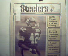 Steeler Digest-10/17/88 Nolls Challenge,Williams Off,