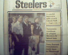 Steelers Digest-11/7/88 Rocky Blier, Horror Continues