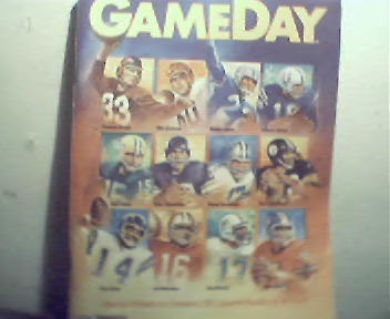 Game Day=10/12/89 Steelers vs Chiefs! Greatest QB's!