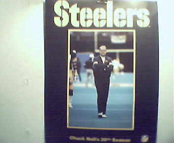 Chuck Noll's 20th Season Steeler Fact Brochure!