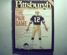 Pittsburgh Magazine-9/82 Terry Bradshaw on Cover!