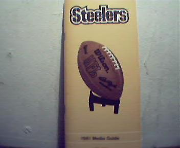 Steelers 1981 Media Guide!