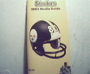 Steelers 1983 Media Guide!