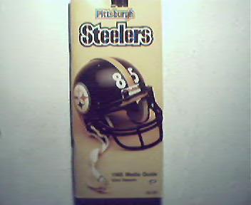 Steelers 1985 Media Guide!