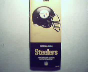 Steelers 1986 Media Guide!