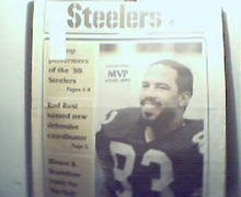 Steeler Digest-2/89 Louis Lipps on Cover!