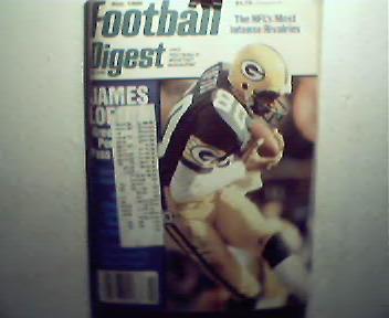 Foobtall Digest-11/86 Lofton,Singletary, Allen, Maas!