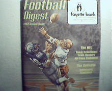 Football Digest 1983 Annual Guide! USFL,NCAA and NFL!