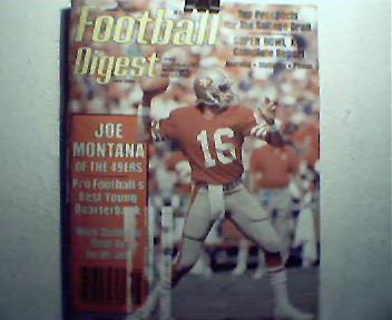 Football Digest-5/6-82 Super Bowl XIV,Joe Montana,More!