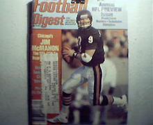 Football Digest-9/86 Jim Tunney, Jerrell Wilson, More!