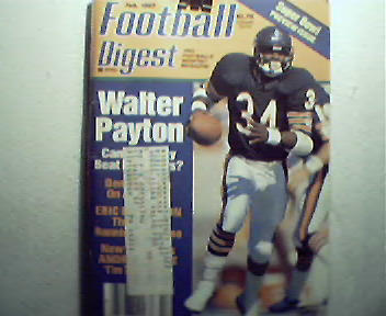 Football Digest-2/87 Tom Landry, Andre Tippett,More!