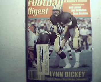 Football Digest-12/83 Ahmad Rashad,San DiegoCoaches