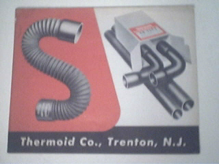 Thermoid Company 1950's Catalog