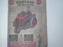 1956 Central Tractor Catalog