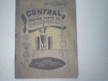 1955 Central Tractor Parts Catalog