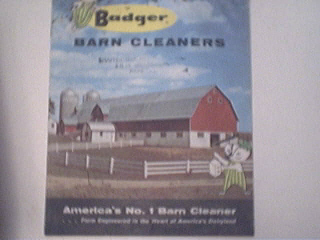 Badger Barn Cleaners Brochure,1960