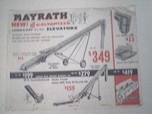 Mayrath Bale Movers/Corn & Hay Elevators,AD
