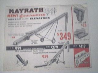 Mayrath Bale Movers/Corn & Hay Elevators,AD