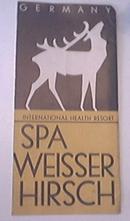 Spa Weisser Hirsch Germany c1950 Brochure