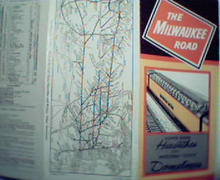 Milwaukee Road  1961 for Hiawathas and Domeliners!